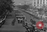 Image of Franklin D Roosevelt's funeral procession Washington DC USA, 1945, second 38 stock footage video 65675051765