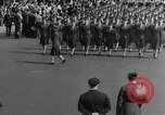 Image of Franklin D Roosevelt's funeral procession Washington DC USA, 1945, second 51 stock footage video 65675051765