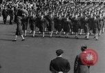 Image of Franklin D Roosevelt's funeral procession Washington DC USA, 1945, second 52 stock footage video 65675051765