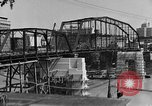 Image of Construction of Southside Bridge in Charleston West Virginia USA, 1937, second 2 stock footage video 65675051768