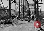 Image of Construction of Southside Bridge in Charleston West Virginia USA, 1937, second 5 stock footage video 65675051768