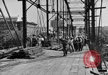 Image of Construction of Southside Bridge in Charleston West Virginia USA, 1937, second 7 stock footage video 65675051768