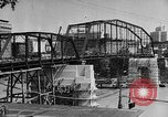 Image of Construction of Southside Bridge in Charleston West Virginia USA, 1937, second 14 stock footage video 65675051768