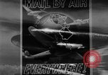 Image of air mail service in the United States Newark New Jersey USA, 1943, second 16 stock footage video 65675051774