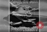 Image of air mail service in the United States Newark New Jersey USA, 1943, second 17 stock footage video 65675051774