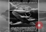 Image of air mail service in the United States Newark New Jersey USA, 1943, second 18 stock footage video 65675051774