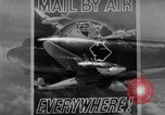 Image of air mail service in the United States Newark New Jersey USA, 1943, second 19 stock footage video 65675051774