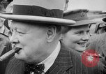 Image of Winston Churchill at Quebec Conference Quebec Canada, 1943, second 30 stock footage video 65675051783