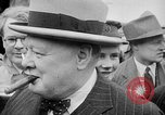 Image of Winston Churchill at Quebec Conference Quebec Canada, 1943, second 31 stock footage video 65675051783