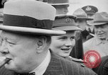 Image of Winston Churchill at Quebec Conference Quebec Canada, 1943, second 33 stock footage video 65675051783