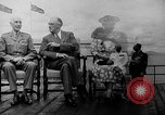 Image of President Roosevelt and Winston Churchill outside at Quebec Conference Quebec Canada, 1943, second 18 stock footage video 65675051786