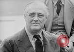 Image of President Roosevelt Quebec Canada, 1943, second 30 stock footage video 65675051793
