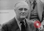 Image of President Roosevelt Quebec Canada, 1943, second 33 stock footage video 65675051793