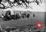 Image of horse drawn covered wagons United States USA, 1918, second 15 stock footage video 65675051805