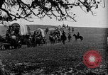 Image of horse drawn covered wagons United States USA, 1918, second 16 stock footage video 65675051805