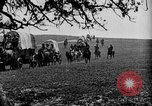 Image of horse drawn covered wagons United States USA, 1918, second 17 stock footage video 65675051805