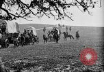 Image of horse drawn covered wagons United States USA, 1918, second 18 stock footage video 65675051805