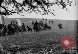 Image of horse drawn covered wagons United States USA, 1918, second 20 stock footage video 65675051805