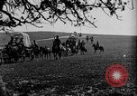 Image of horse drawn covered wagons United States USA, 1918, second 21 stock footage video 65675051805