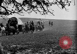 Image of horse drawn covered wagons United States USA, 1918, second 28 stock footage video 65675051805