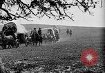 Image of horse drawn covered wagons United States USA, 1918, second 29 stock footage video 65675051805