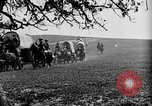 Image of horse drawn covered wagons United States USA, 1918, second 30 stock footage video 65675051805