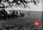 Image of horse drawn covered wagons United States USA, 1918, second 33 stock footage video 65675051805