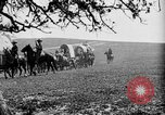 Image of horse drawn covered wagons United States USA, 1918, second 36 stock footage video 65675051805
