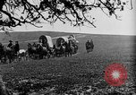 Image of horse drawn covered wagons United States USA, 1918, second 38 stock footage video 65675051805