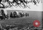 Image of horse drawn covered wagons United States USA, 1918, second 41 stock footage video 65675051805