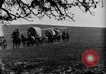 Image of horse drawn covered wagons United States USA, 1918, second 42 stock footage video 65675051805