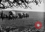 Image of horse drawn covered wagons United States USA, 1918, second 43 stock footage video 65675051805