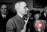 Image of Vice President Harry S Truman Washington DC USA, 1945, second 19 stock footage video 65675051806