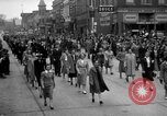 Image of Labor unions protest Taft-Hartley Act New York City United States USA, 1947, second 43 stock footage video 65675051810