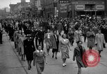 Image of Labor unions protest Taft-Hartley Act New York City United States USA, 1947, second 45 stock footage video 65675051810