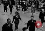 Image of Labor unions protest Taft-Hartley Act New York City United States USA, 1947, second 54 stock footage video 65675051810