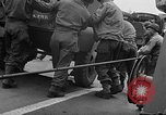 Image of American troops aboard LST English Channel, 1944, second 10 stock footage video 65675051822