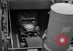 Image of American troops aboard LST English Channel, 1944, second 18 stock footage video 65675051822