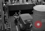 Image of American troops aboard LST English Channel, 1944, second 23 stock footage video 65675051822