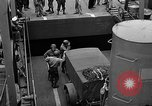 Image of American troops aboard LST English Channel, 1944, second 24 stock footage video 65675051822