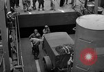 Image of American troops aboard LST English Channel, 1944, second 25 stock footage video 65675051822