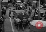 Image of American troops aboard LST English Channel, 1944, second 27 stock footage video 65675051822