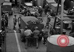 Image of American troops aboard LST English Channel, 1944, second 28 stock footage video 65675051822