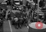 Image of American troops aboard LST English Channel, 1944, second 29 stock footage video 65675051822