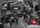 Image of American troops aboard LST English Channel, 1944, second 33 stock footage video 65675051822