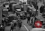 Image of American troops aboard LST English Channel, 1944, second 34 stock footage video 65675051822