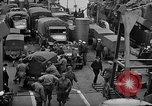 Image of American troops aboard LST English Channel, 1944, second 35 stock footage video 65675051822