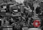 Image of American troops aboard LST English Channel, 1944, second 37 stock footage video 65675051822