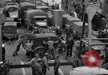 Image of American troops aboard LST English Channel, 1944, second 38 stock footage video 65675051822