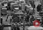 Image of American troops aboard LST English Channel, 1944, second 39 stock footage video 65675051822